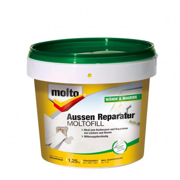 Molto Reparatur Moltofill Aussen Direkt Aus Der Tube Anwendbar
