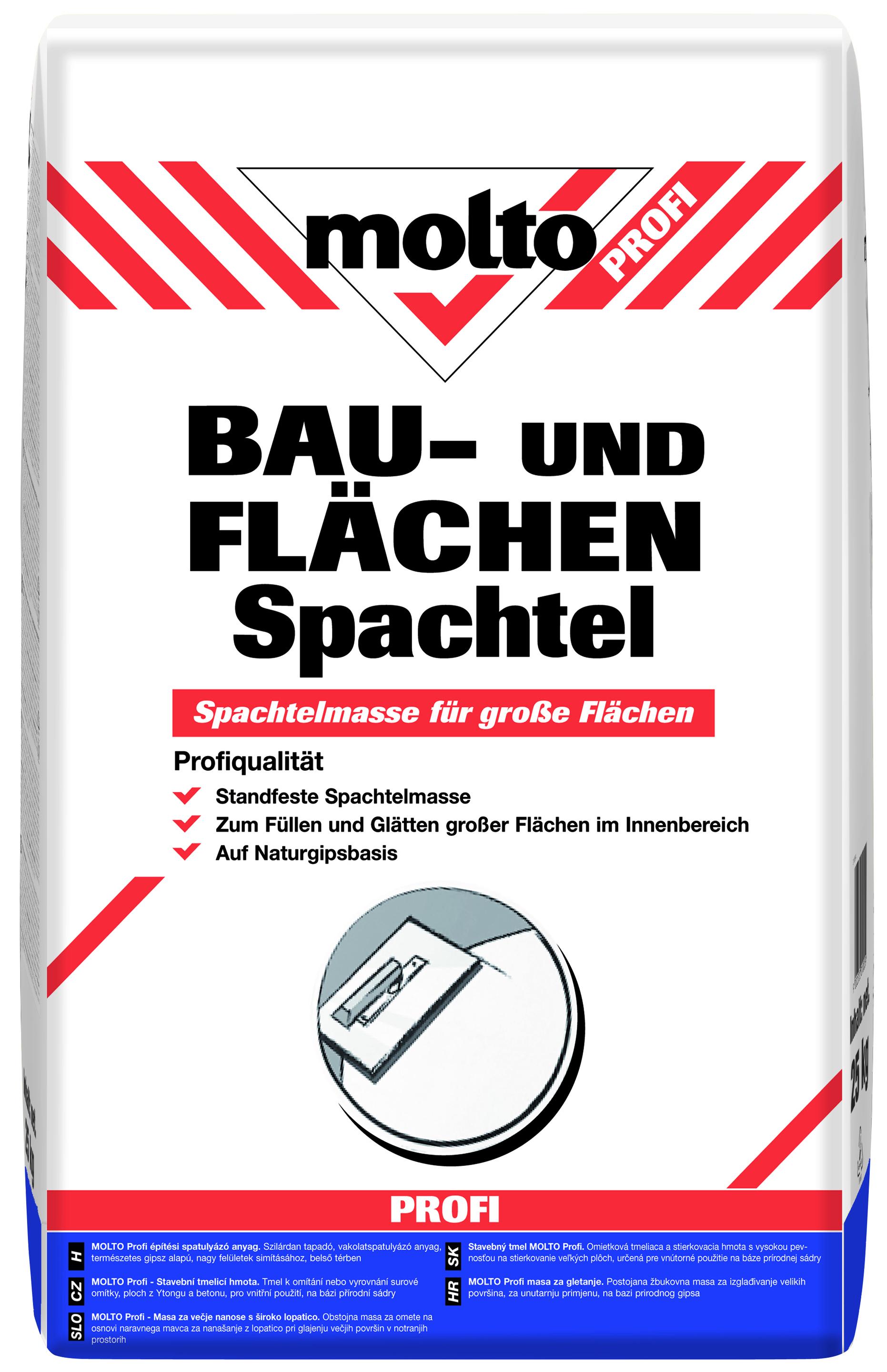 molto profi bau- und flächenspachtel - molto at