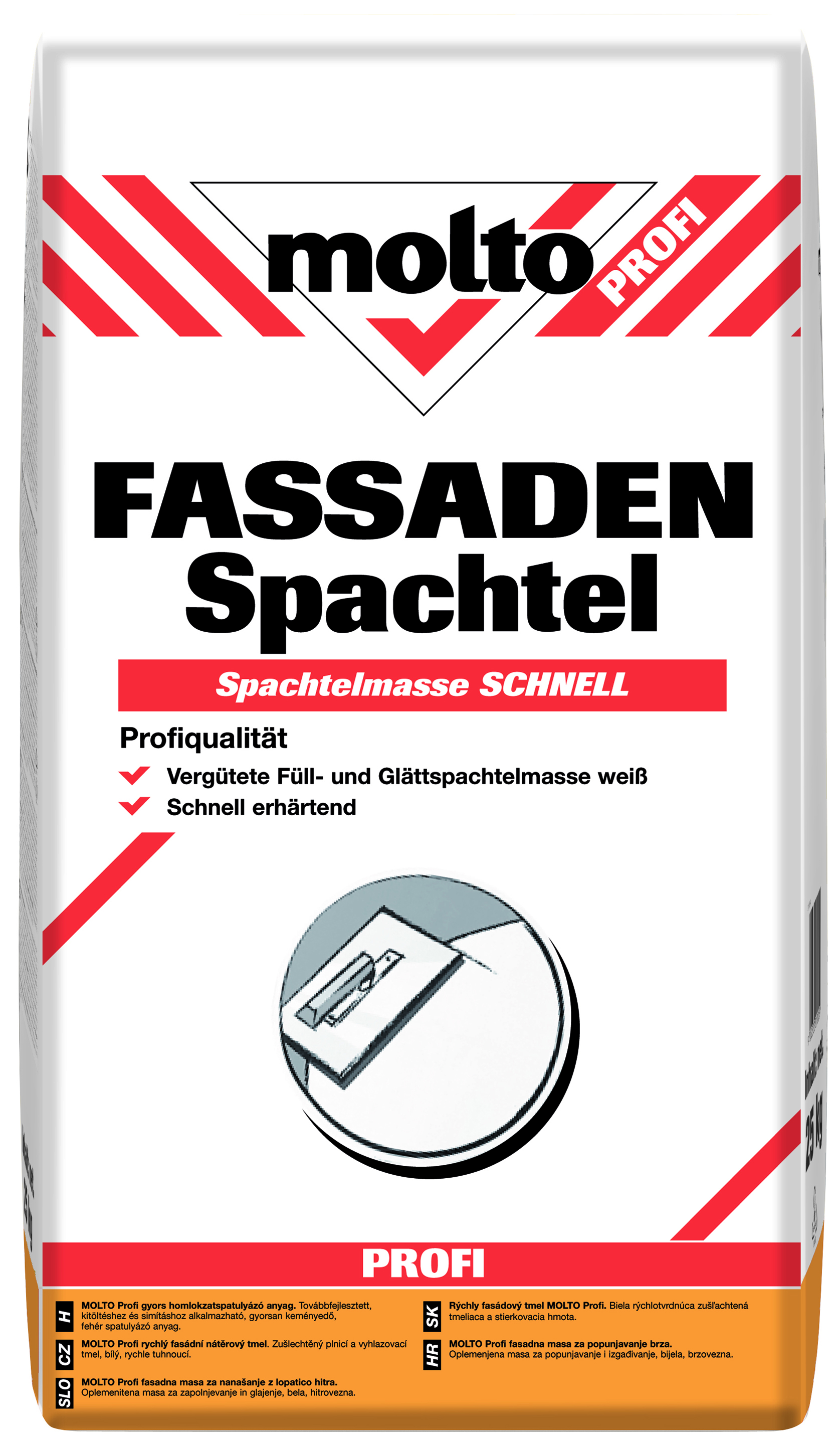 molto profi fassaden spachtel - molto at