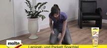 Molto Laminat- & Parkett Spachtel Anleitung